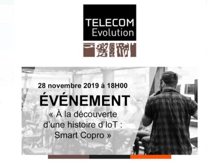 Conférence de Smart Copro à l Institut Mines Telecom Evolution